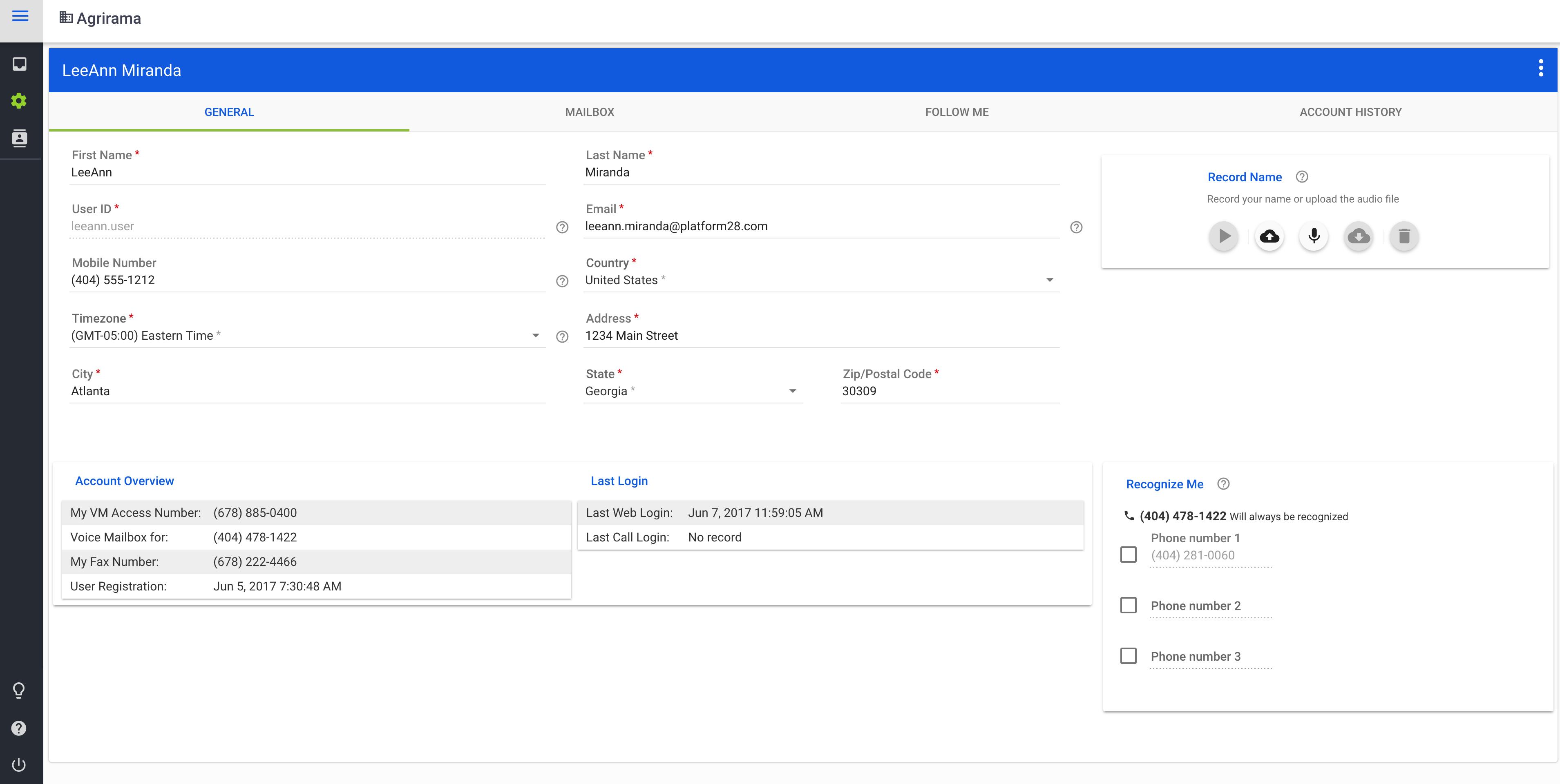 Ga Voicemail End User Quickstart Guide Ga Voicemail